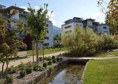 Aménagement paysager en milieu urbain et collectif