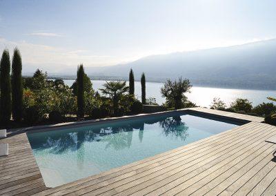 Réalisation de piscine et terrasse bois