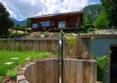 Aménagement de jardin paysager