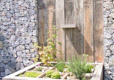 Les jardins inspirant Gonthier - le Jardin potager