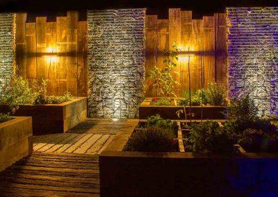 Les jardins inspirant Gonthier - le potager la nuit