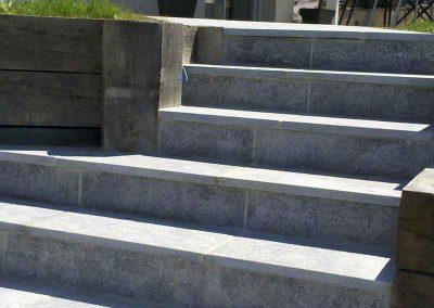 Escalier en dallage