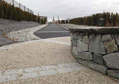 Mur maçonné en pierre naturelle