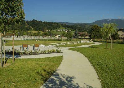 Cimetière Cognin, Jardin du Souvenir