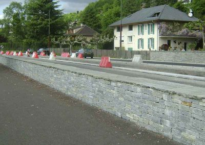 Mur parement Luzerne