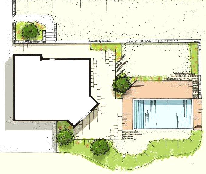 R inventez dehors comment dessiner son jardin for Dessiner son jardin paysager