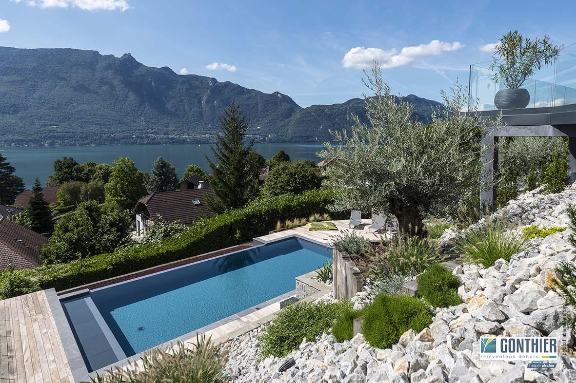 Pourquoi et comment un jardin sec autour de la piscine for Piscine jardin lescar