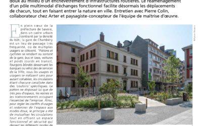 La PRESSE en parle… Gare de Chambéry Aménagement & Chantiers