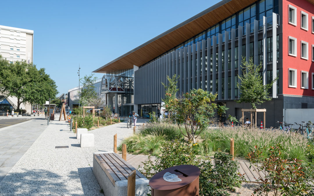 Aménagement paysager urbain- PEM Chambéry