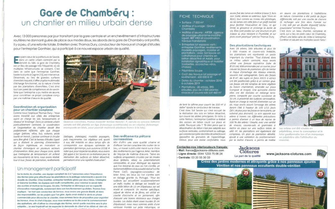La PRESSE en parle… PEM Gare de Chambéry