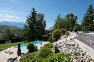 Gonthier jardin minimaliste art topaire Savoie 73