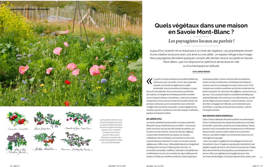 La PRESSE en parle… Quels végétaux choisir en Savoie Mont-Blanc ?