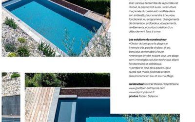 La PRESSE en parle… Rénovation Piscine & Environnement